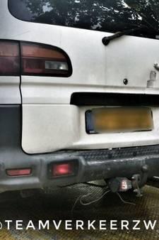 Controle in Oosterhout drama voor eigenaar: twee bonnen en auto weg