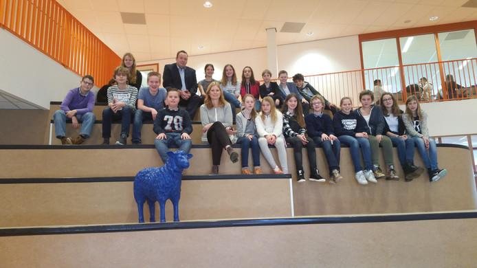 Opening nieuw schoolgebouw Orion lyceum.