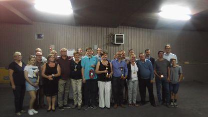 Christophe Sanspeur en Martine Roos zijn zomerkampioenen Petanqueclub COC