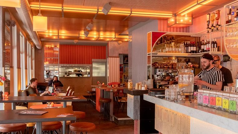 Cafe Ramona. Beeld Jakob Van Vliet