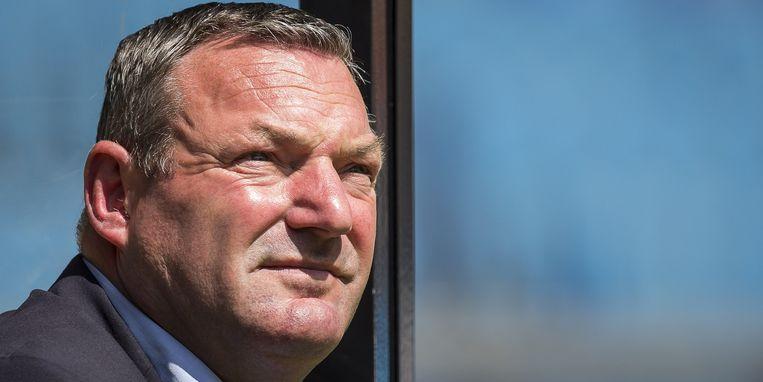 Ron Jans, trainer van PEC Zwolle. Beeld ANP