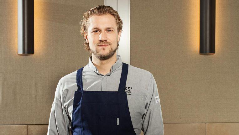 Joris Bijdendijk: 'Mensen blij maken met eten. Dat is mijn hoofdtaak' Beeld Friso Keuris