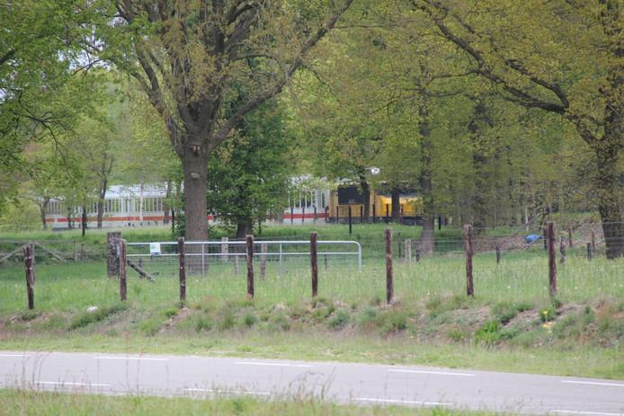 De Duitse passagierstrein.