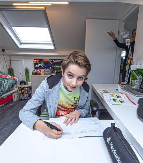 Thuis werken én leren? Dit gezin vond het 'verschrikkelijk' en bedacht rigoureuze oplossing