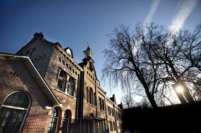 Huize Bijdorp in Voorschoten,  sinds 1875 het thuis van de Dominicanessen van de Heilige Catharina van Siena. Beeld