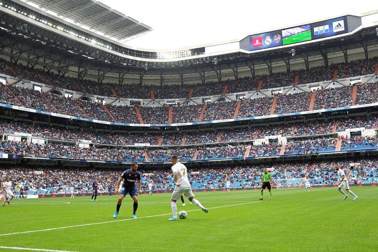 Hazard zaterdag tegen Levante.