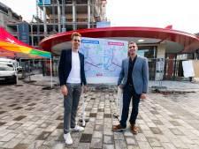 """PVDA voert actie: """"knappe infrastructuur Noorderlijn is maat voor niets."""""""
