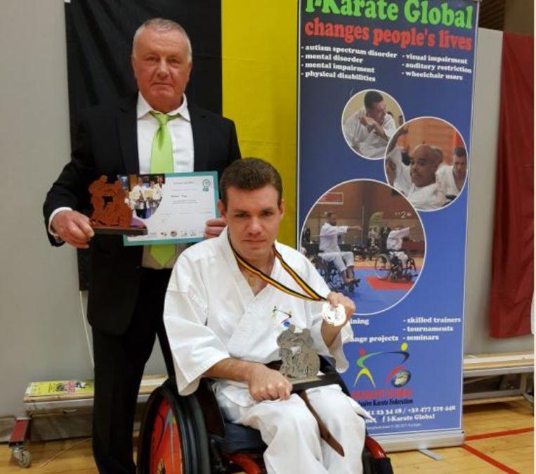 G-karateka Filip Billen