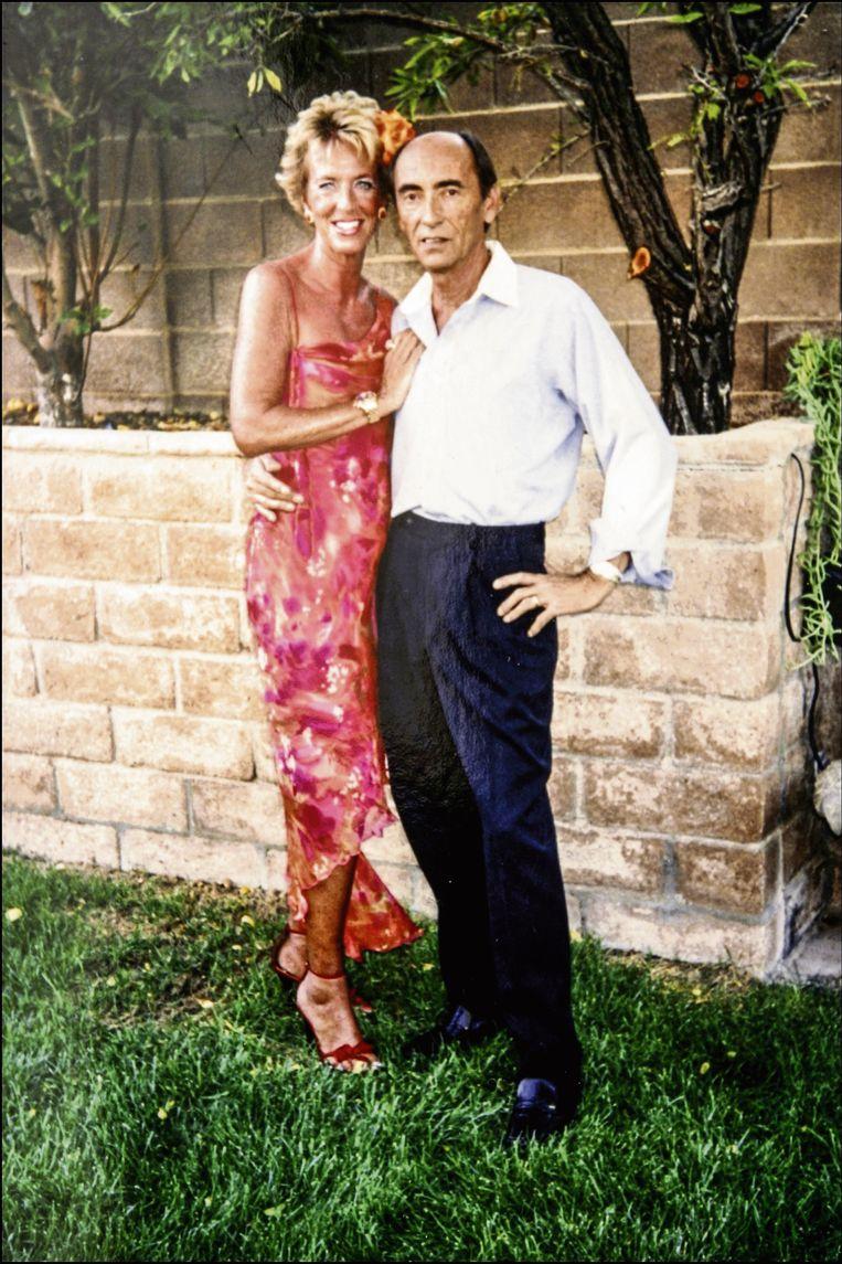 Prinses Marie-Christine Met haar echtgenoot Jean-Paul Gourgues.