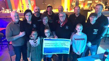 JH De Kloemp schenkt 1.250 euro aan goed doel