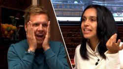 """James helpt Nora Gharib met Marokkaanse tongval: """"Jij presenteert toch op Eén?"""""""