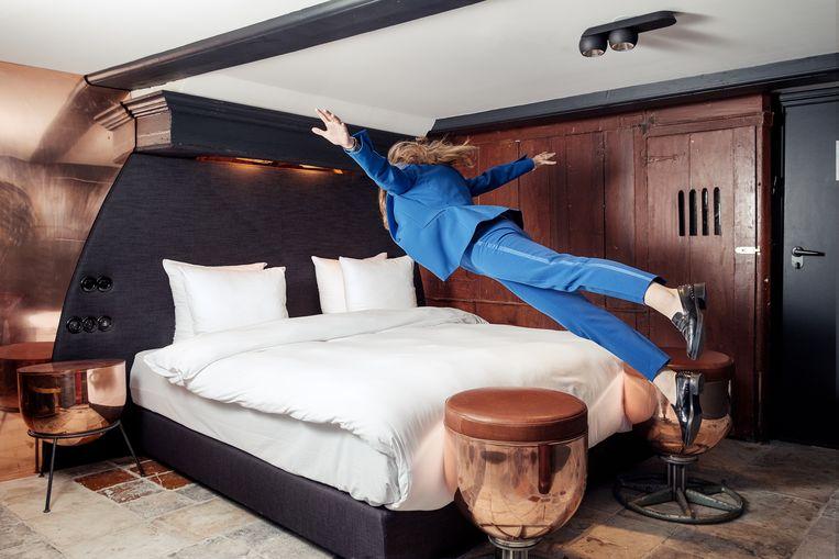 In hotel The Craftsmen zijn kamers ingericht naar oude ambachten. Beeld Jakob Van Vliet