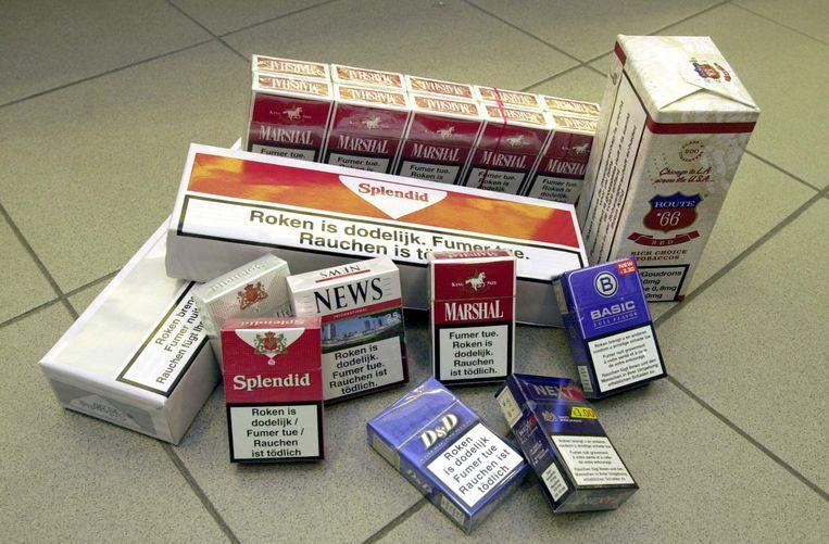 Hij was onwettig in het bezit van 8.150 sigaretten, 6,48 kilo roltabak, 279,5 liter alcohol en 41,8 liter alcoholvrije drank.