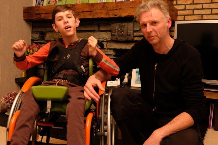 Janosch en zijn vader Gert