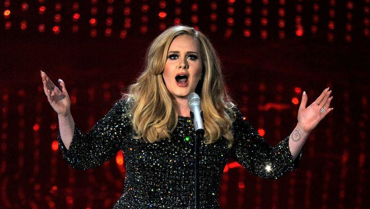 Fans van Adele zijn de dupe geworden van woekerprijzen voor kaartjes Beeld ap