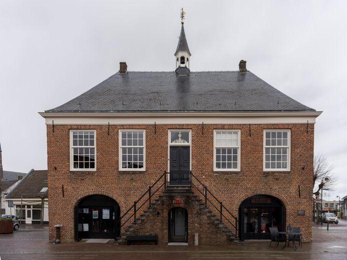 Het Schepenhuis in Budel.
