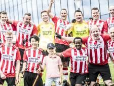 Amputatieteam van PSV speelt eerste wedstrijd en wint in Antwerpen