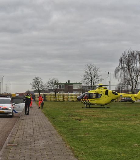 Bedrijfsongeval in Etten-Leur, slachtoffer per traumaheli naar ziekenhuis
