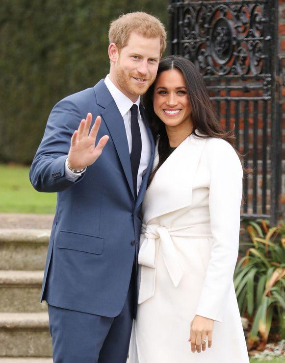 De Britse prins Harry en Meghan kondigden deze week hun verloving aan.