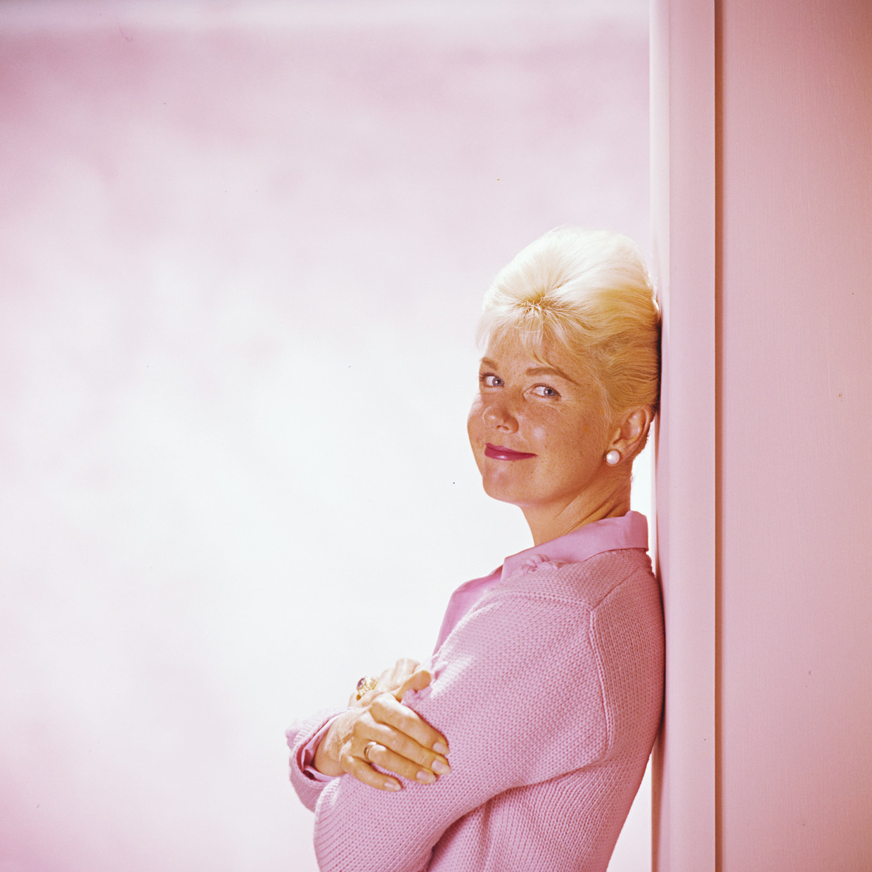 Doris Day rond 1960.