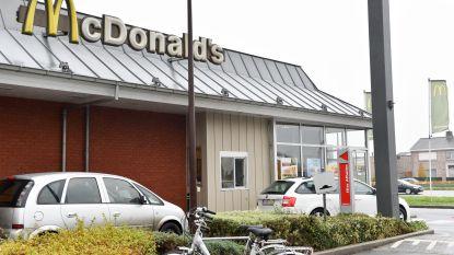 """Overval bij McDonald's Zingem mislukt:  """"Het waren duidelijk amateurs"""""""