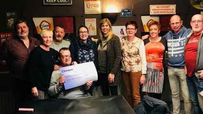 Golden Oldies schenken cheque aan vzw Gete-Run