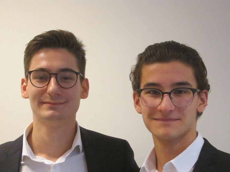 Professioneel: Alexander Gritsay (links) en Luis A. Mendes. Beeld