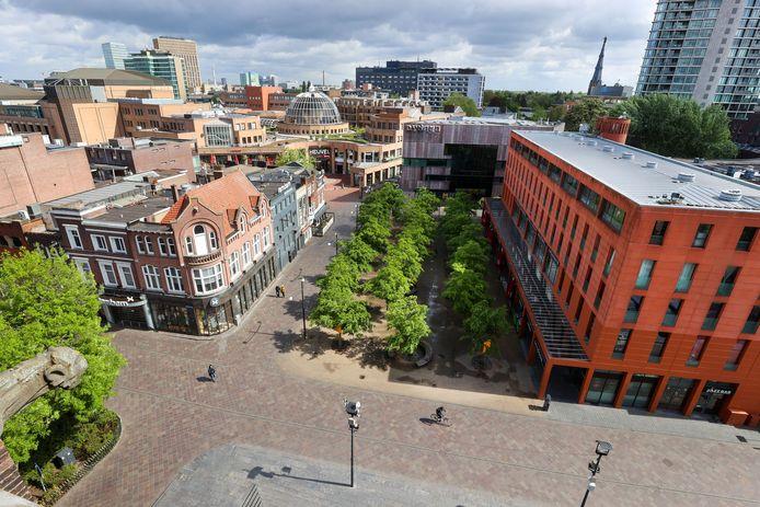 Jongerencentrum Dynamo in het hart van Eindhoven.