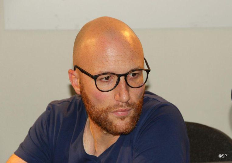 Beroepsjournalist Jeroen Vercruysse (36) uit Waregem .