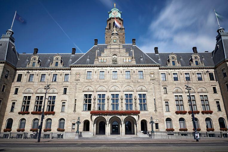 Illustratiefoto: het Rotterdamse stadhuis aan de Coolsingel.