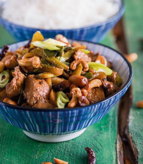 Wat Eten We Vandaag: Kip met cashewnoten