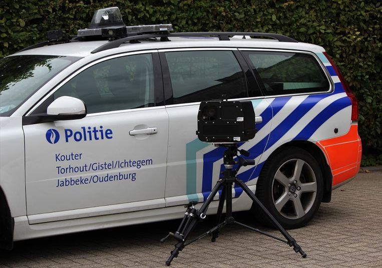 De Lokale Politie Kouter staat volgende week te flitsen in Snellegem, Snaaskerke en Eernegem.