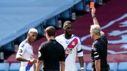 """Palace-coach ziet geen excuses voor rode kaart Benteke: """"Ik kan het niet goedpraten, hoezeer hij ook uitgedaagd werd"""""""