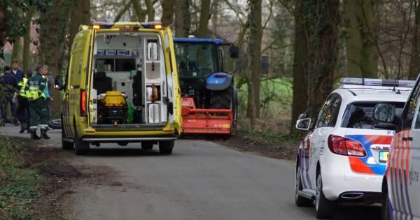 Motorrijder overleden door botsing met tractor in Kotten.