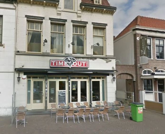Café Time Out in Roosendaal.