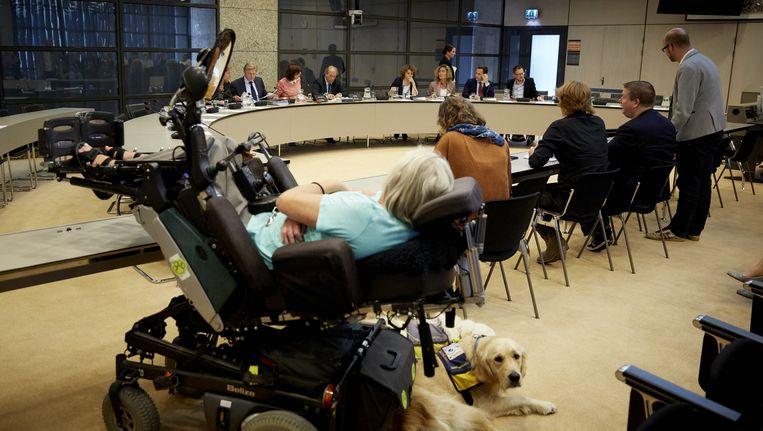 Staatssecretaris Van Rijn tijdens een eerder debat over pgb's. Beeld anp