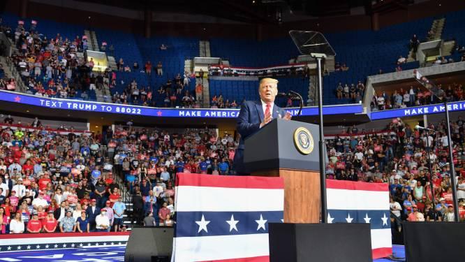 Trump houdt volgende week nieuwe grote campagnemeeting