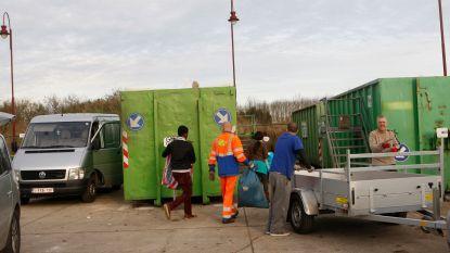 Per deelgemeente naar het containerpark, komende twee zaterdagen wel gesloten