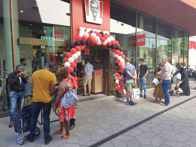 Het KFC-restaurant in Turnhout