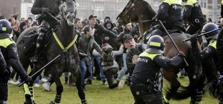 Politie doet onderzoek naar geweld bij demonstratie Museumplein