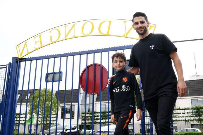 Fatih Kamaci keert terug bij Dongen en neemt zijn zoontje Semih mee.