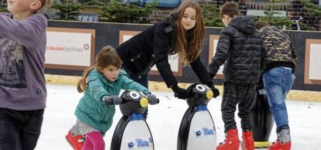 Schaatsen kunnen uit het vet, Schijndel ruimt Markt in voor Winterpark