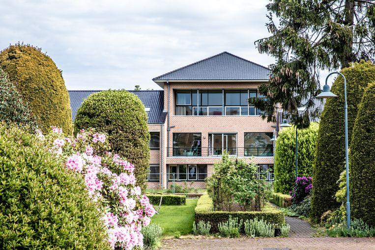 Het asielcentrum in Deurne.