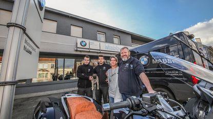 Motorzaak Mabbe verhuist