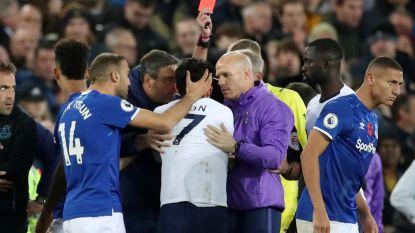 Gelijkspel tussen Everton en Tottenham overschaduwd door horrorblessure André Gomes, Son verlaat veld in tranen