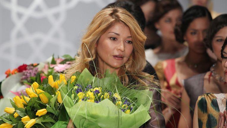 Gulnara Karimova, de Oezbeekse presidentsdochter die geld kreeg doorgesluisd van het in Amsterdamse gevestigde Vimpelcom. Beeld null