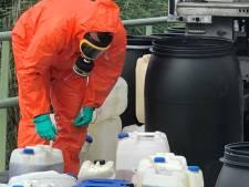 Dumping (drugs)chemicaliën Roosendaal mogelijk de grootste dit jaar in de regio