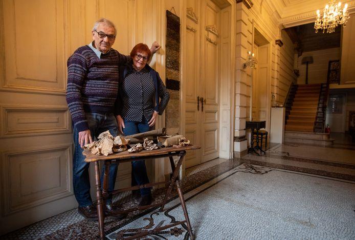 Eigenaars Herman Collignon en zijn vrouw Ingrid van Huis Nagels zouden bewijs hebben gevonden van een Joods meisje dat tijdens de Tweede Wereldoorlog onderdook in het notarishuis.
