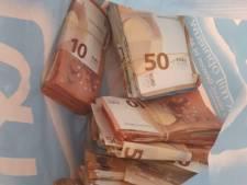 Witwasser valt door de mand bij kentekencontrole, ruim 21.000 euro in beslag genomen