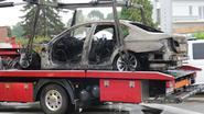 BMW brandt uit aan Leuvensesteenweg